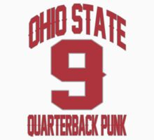 POINT BREAK OHIO STATE NUMBER 9 QUATERBACK PUNK by DanFooFighter