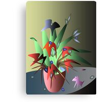 Magic flowers Canvas Print