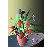 Magic flowers Photographic Print