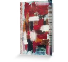 The abstract.... Greeting Card