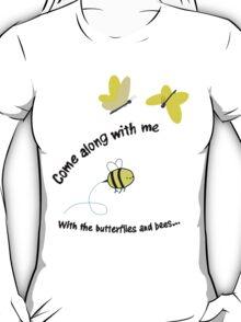 Butterflies and Bees T-Shirt