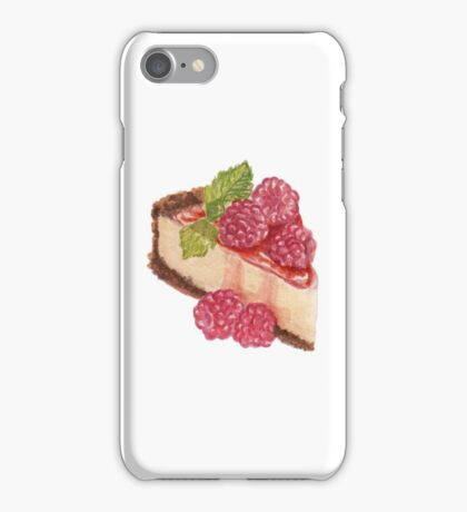 Raspberry Cheesecake iPhone Case/Skin