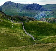 Harrison Stickle from Lingmoor Fell by Mark Haynes Photography