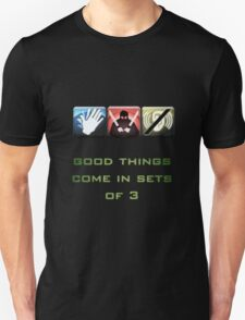 Good Things Come in 3 T-Shirt