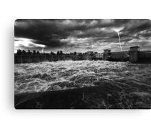 Raging Storm Canvas Print