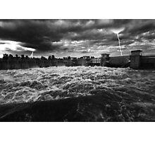 Raging Storm Photographic Print