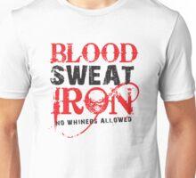 Iron house Blood Sweat & Iron Unisex T-Shirt