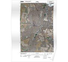 USGS Topo Map Washington State WA Chief Joseph Dam 20110425 TM Poster