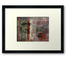 Bifurcated Genius Framed Print
