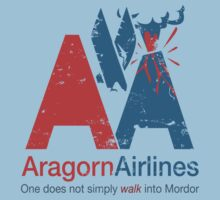 Aragorn Airlines by nikholmes