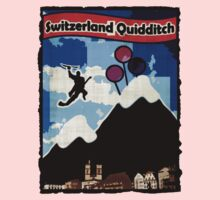 Switzerland Quidditch Kids Clothes