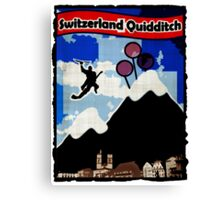 Switzerland Quidditch Canvas Print