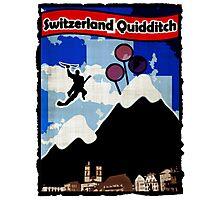 Switzerland Quidditch Photographic Print