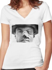 Jack Nicholson - Chinatown Women's Fitted V-Neck T-Shirt