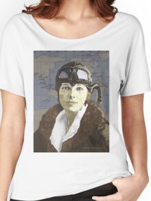 Amelia Earhart Women's Relaxed Fit T-Shirt