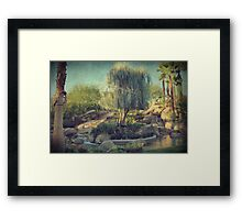 Don't Weep For Me Here Framed Print