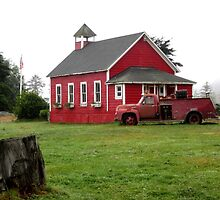 Little Red Schoolhouse by marilyn diaz