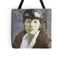 Amelia Earhart Tote Bag