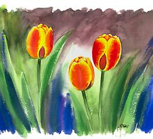 REAL DUTCH TULIPS by RainbowArt