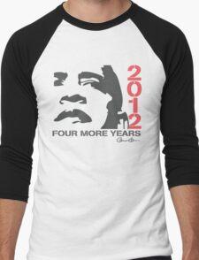 Obama 2012 Four More Years Shirt Men's Baseball ¾ T-Shirt