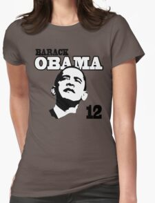Obama 2012 Shirt Womens Fitted T-Shirt