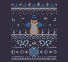 Ugly Holiday Sweater (Blue) Long Sleeve T-Shirt