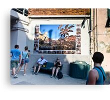 Vernazza on the mend.  Canvas Print