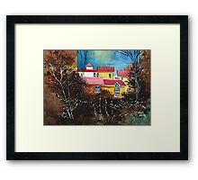 A window to the sky Framed Print