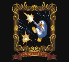 parodius penguin with a machine gun by obscuregames