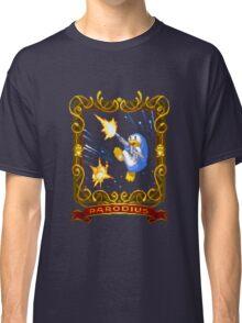 parodius penguin with a machine gun Classic T-Shirt