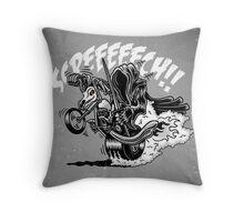 Wraiths on Wheels! Throw Pillow