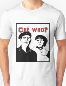 "Personalised ""Che who?"" t-shirt T-Shirt"