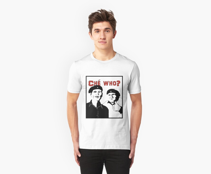 """Personalised """"Che who?"""" t-shirt by redbo"""