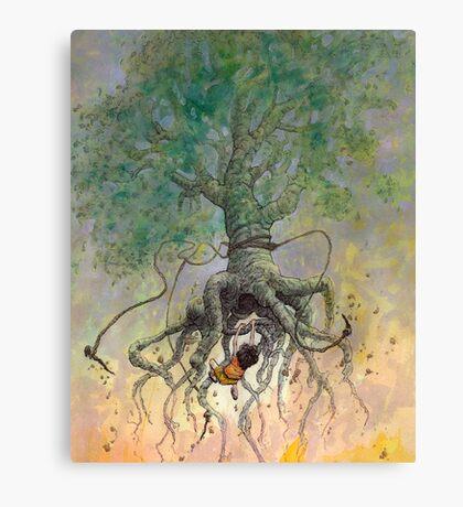 The Roaming Oak Canvas Print