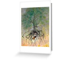 The Roaming Oak Greeting Card