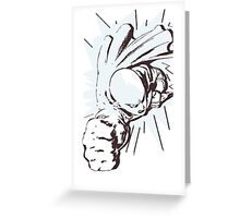Saitama Cartoon Greeting Card