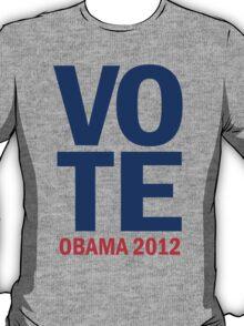 Vote Obama 2012 Shirt T-Shirt