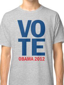 Vote Obama 2012 Shirt Classic T-Shirt