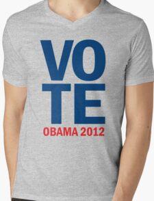 Vote Obama 2012 Shirt Mens V-Neck T-Shirt