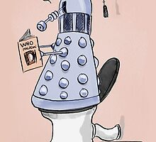 dalek toilet humour by Loui  Jover
