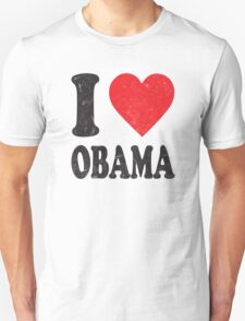 I Love Obama Retro Shirt T-Shirt