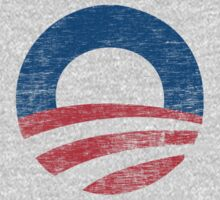 Retro Obama Logo Shirt Kids Clothes
