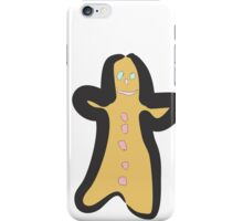 gingerbread man iPhone Case/Skin