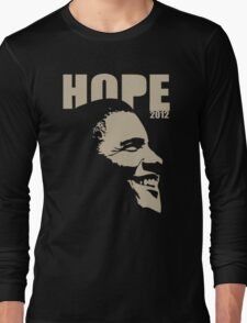 Obama Hope 2012 Shirt Long Sleeve T-Shirt