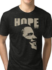 Obama Hope 2012 Shirt Tri-blend T-Shirt