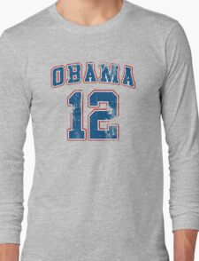 Retro Obama 2012 Shirt Long Sleeve T-Shirt