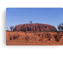 The Red Centre Canvas Print