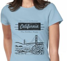 California Vacation II Womens Fitted T-Shirt
