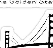 California Vacation II Sticker