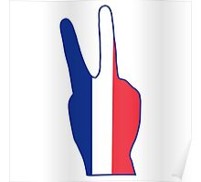 I Stand with France #prayforparis Poster